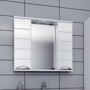 Шкаф-зеркало 80-90 см