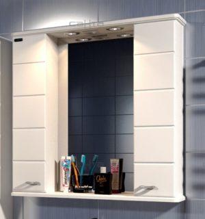Шкаф-зеркало 65-75 см