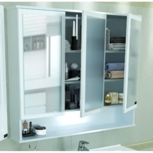 Шкаф-зеркало 99-120 см
